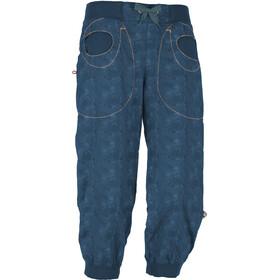 E9 N Remix 3/4-bukser Damer, blå